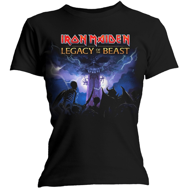Iron Maiden - Legacy Army Women's Large T-Shirt - Black