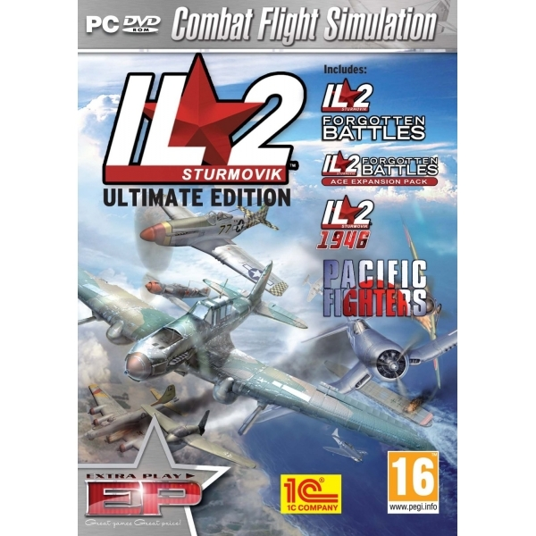 IL2 Sturmovik The Ultimate Edition Game PC