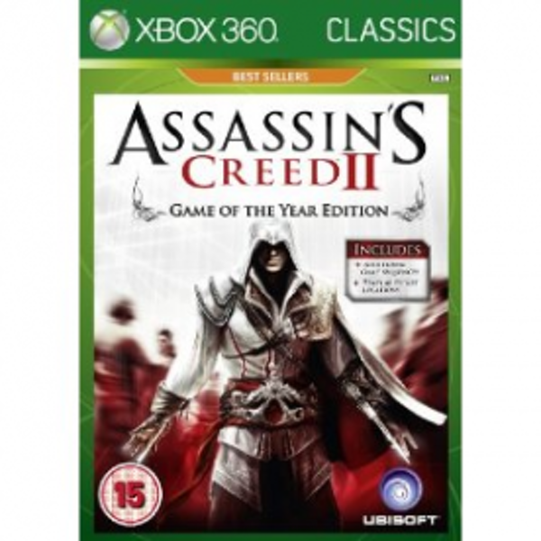 Assassin's Creed II 2 Game Of The Year (GOTY) Xbox 360 Game - Image 1
