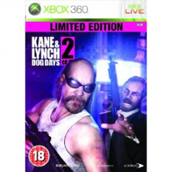 Kane & and Lynch 2 Dog Days Limited Edition Game Xbox 360