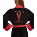 Friends You Are My Lobster Womens Black Robe - One Size - Image 3