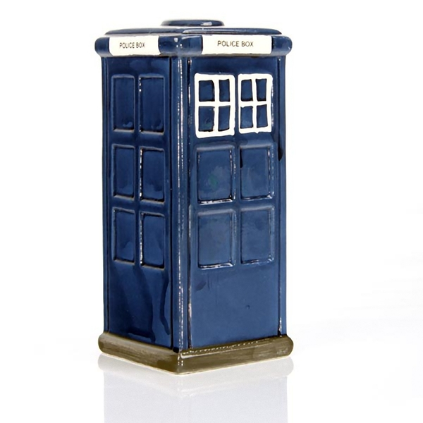 Police Box Ceramic Money Box