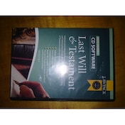 Last Will and Testament Software [CD-ROM]