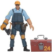 Blu Engineer (Team Fortress) Neca Action Figure