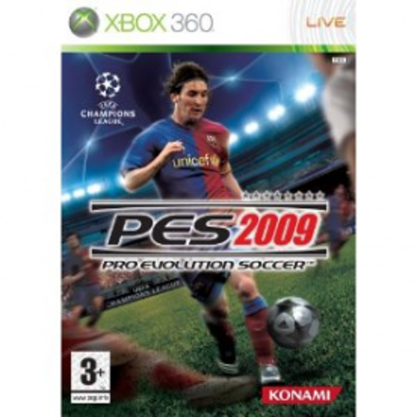 Pro Evolution Soccer 2009 Game Xbox 360