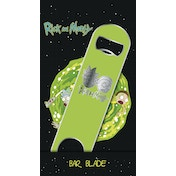 Rick and Morty Logo Bar Blade