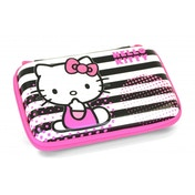 Hello Kitty Stripped EVA Case 3DS/Dsi/DS Lite