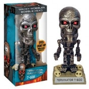 Terminator Salvation Gold T-600 Wacky Wobbler Bobble Head