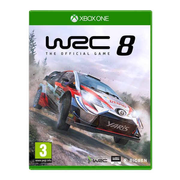 WRC 8 Xbox One Game - Image 1