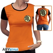 Dragon Ball - Kame Symbol Women's Large T-Shirt - Orange