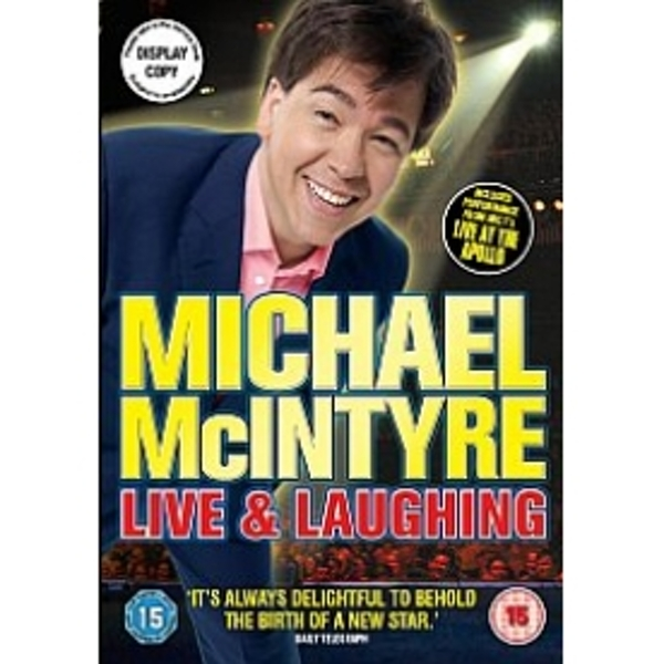 Michael McIntyre: Live And Laughing DVD