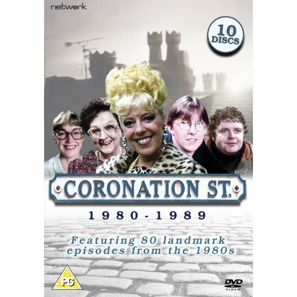 Coronation Street Best of 1980-1989 DVD