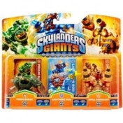 Prism Break, Lightning Rod, and Drill Sergeant (Skylanders Giants) Triple Character Figure Pack E