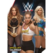 World Wrestling Women Official 2019 Calendar - A3 Wall Calendar