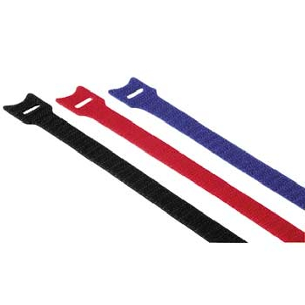 Hama Hook and Loop Cable Ties, 145 mm, coloured