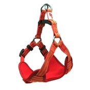 Long Paws Orange Comfort Collection Padded Harness L
