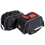 Precision Travel Bag Black/Red/Silver