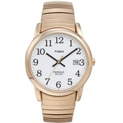 Timex Men's Quartz Easy Reader Watch with Analogue Display and Stainless Steel Expandable Bracelet