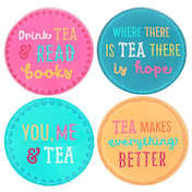 Fiesta Fun Tea Coasters