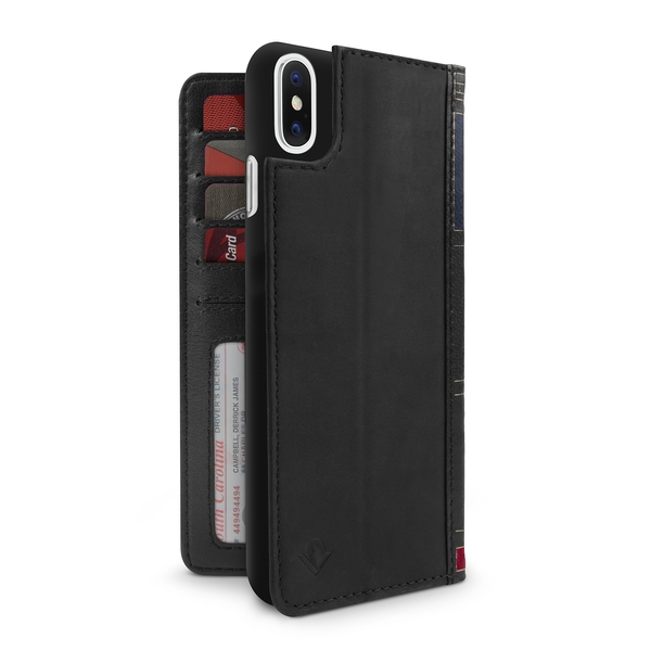 Twelve South BookBook for iPhone XS Max - Black