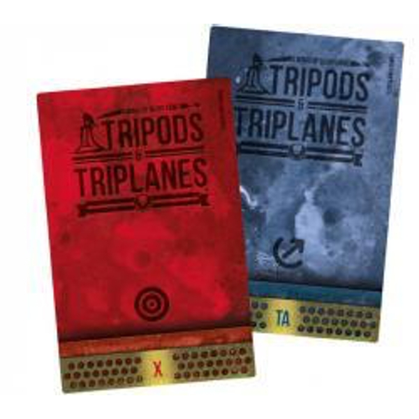 Wings of Glory Tripods & Triplanes Additional Damage Deck