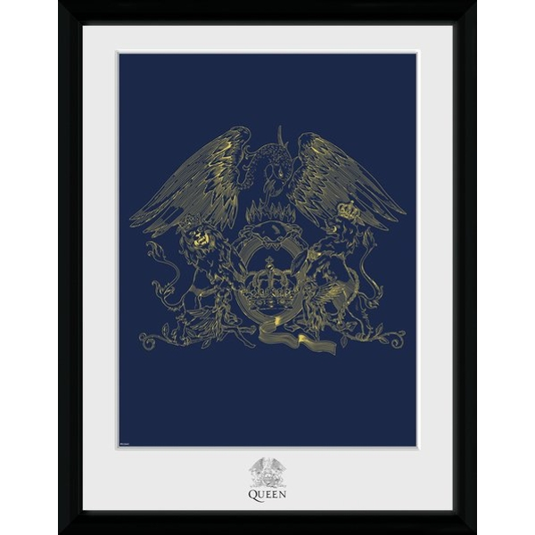 "Queen Crest 12"" x 16"" Collector Print"