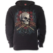 Lord Have Mercy Premuim Biker Fashion Men's X-Large Hoodie - Black