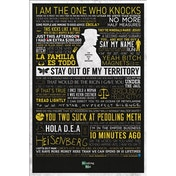 Breaking Bad - Typographic Maxi Poster