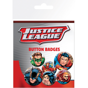 DC Comics Justice League - Group Badge Pack