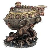 Leviathan's Escape Steampunk Sculpture