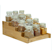 4 Tier Bamboo Spice Rack | M&W - Image 3