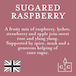 Sugared Raspberry (Pastels Collection) Tin Candle - Image 4