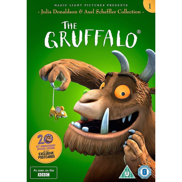 The Gruffalo 20th Anniversary Special Edition DVD