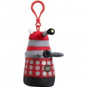 Doctor Who Red Talking Dalek Plush Key Chain