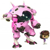 Oversized D.VA & Meka (Overwatch) Funko Pop! Vinyl Figure