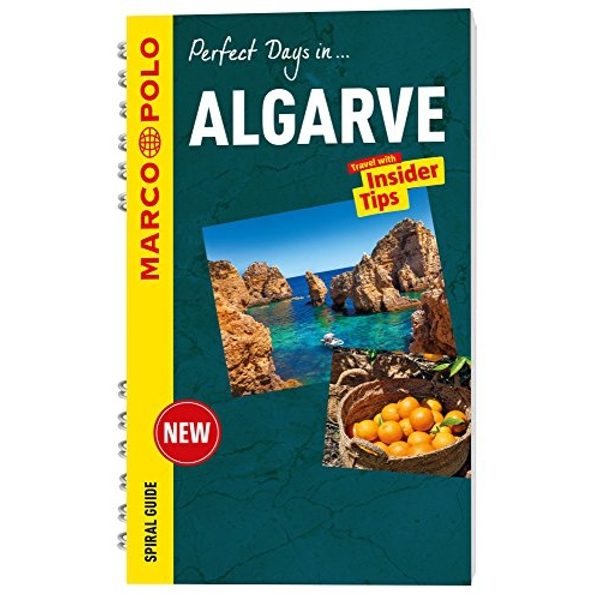 Algarve Marco Polo Travel Guide - with pull out map  Spiral bound 2016