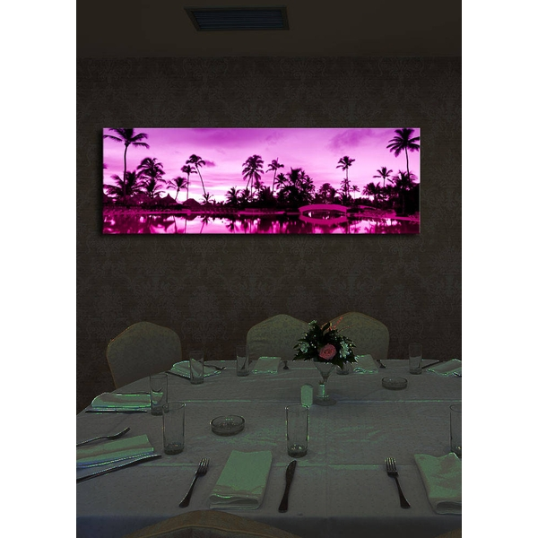 3090?ACT-6 Multicolor Decorative Led Lighted Canvas Painting