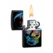 Zippo X-Ray Skull Black Matte Windproof Lighter - Image 2