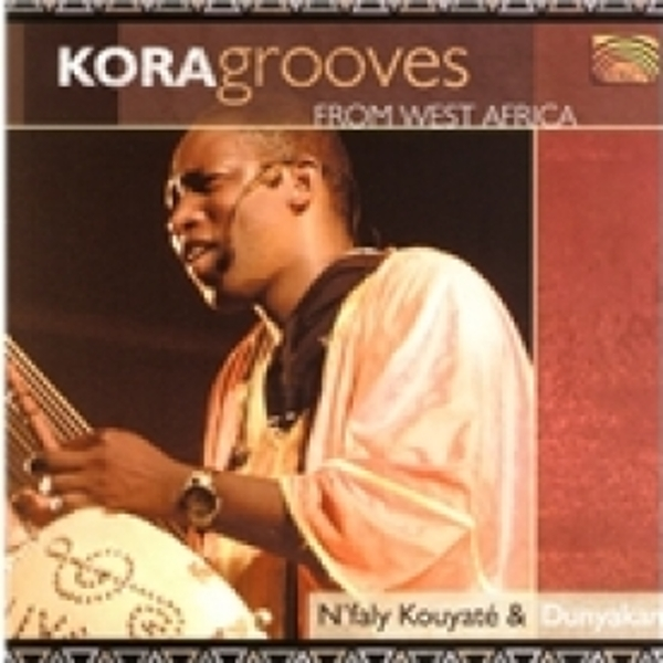 N'Faly Kouyate Kora Grooves From West Africa CD