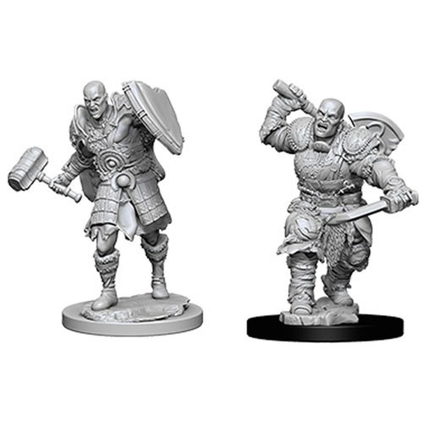 Dungeons & Dragons Nolzur's Marvelous Unpainted Miniatures (W7) Male Goliath Fighter