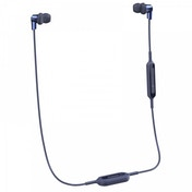 Panasonic RPNJ300BEA Wireless Ergo-Fit Bluetooth Earphones Blue