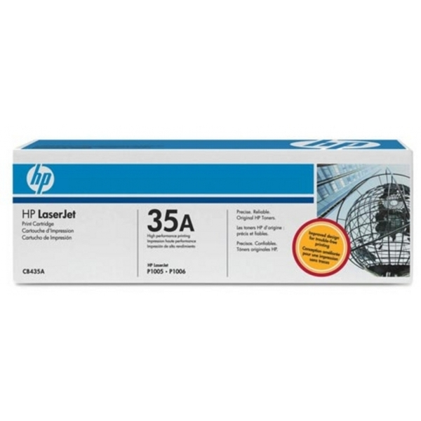 HP CB435AD (35A) Toner black, 1.5K pages, Pack qty 2 - Image 2