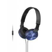 Sony MDR-ZX310AP Stereo Headphones - Blue