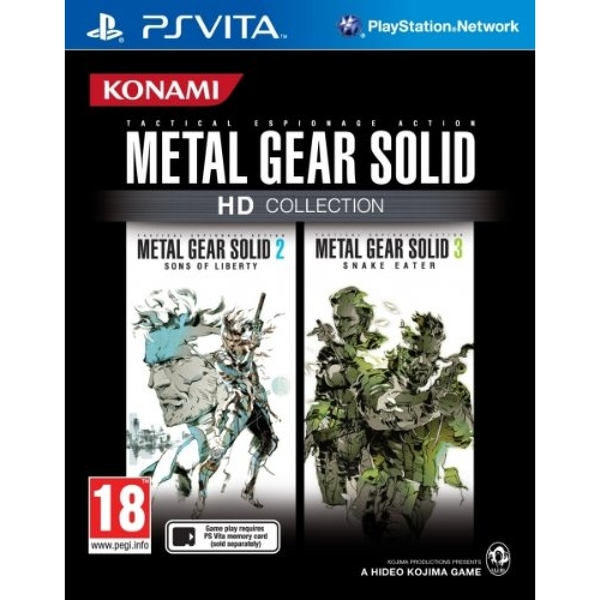 Metal Gear Solid HD Collection Details - LaunchBox Games