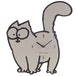 Simon's Cat Wall Clock - Image 3