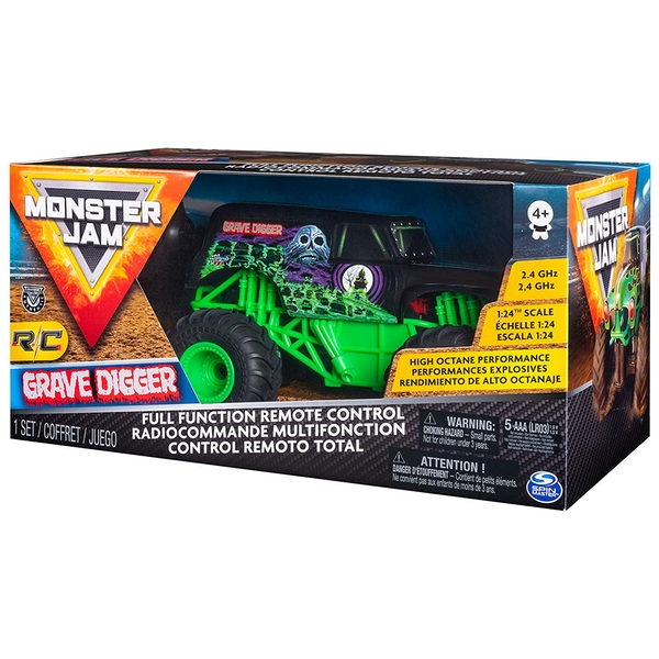 Monster Jam RC - 1/24th Scale  Grave Digger Monster Truck