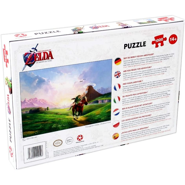 The Legend of Zelda: Ocarina of Time Jigsaw Puzzle - 1000 Pieces