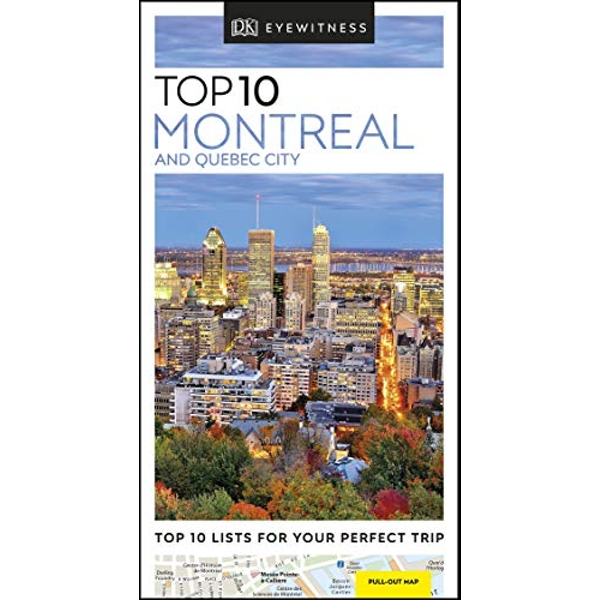 DK Eyewitness Top 10 Montreal and Quebec City  Paperback / softback 2019
