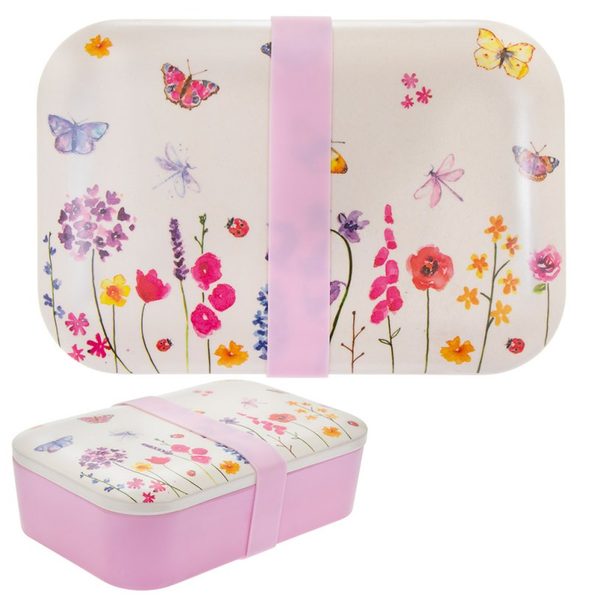 Butterfly Garden Bamboo lunch Box by Lesser & Pavey