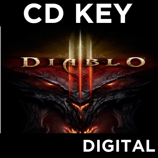 Diablo III 3 Game PC CD Key Download for Battle - Image 1